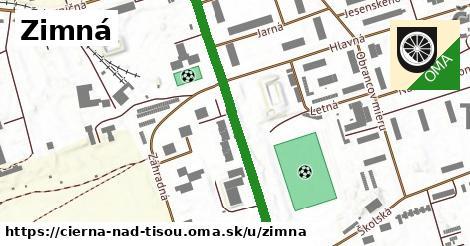 ilustrácia k Zimná, Čierna nad Tisou - 504m
