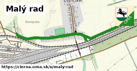 ilustrácia k Malý rad, Čierna - 1,26km