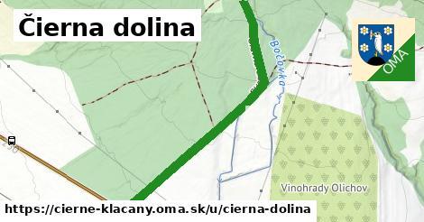 ilustrácia k Čierna dolina, Čierne Kľačany - 1,03km