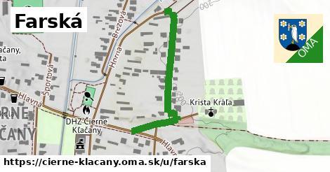 ilustrácia k Farská, Čierne Kľačany - 389m