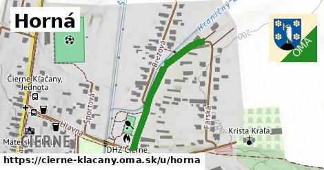ilustrácia k Horná, Čierne Kľačany - 315m