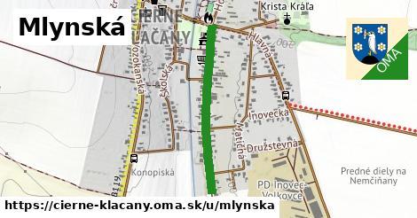 ilustrácia k Mlynská, Čierne Kľačany - 606m