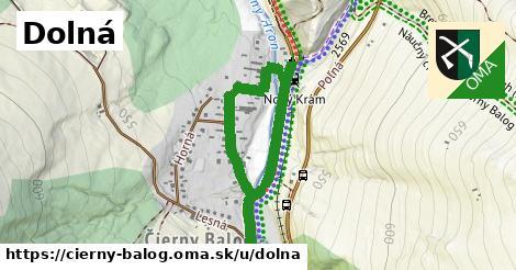 ilustrácia k Dolná, Čierny Balog - 1,13km