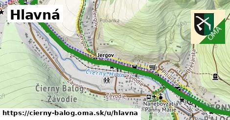 ilustrácia k Hlavná, Čierny Balog - 1,67km