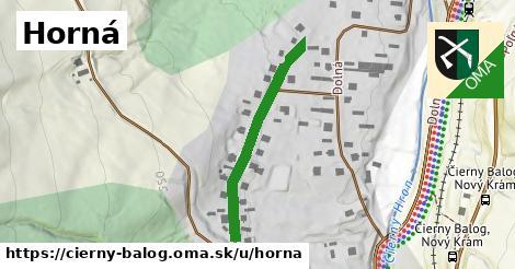 ilustrácia k Horná, Čierny Balog - 312m