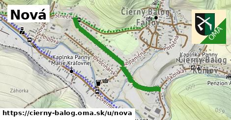 ilustrácia k Nová, Čierny Balog - 0,76km
