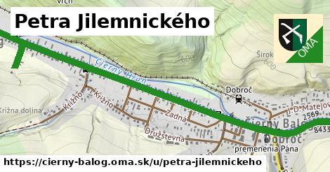 ilustrácia k Petra Jilemnického, Čierny Balog - 2,3km