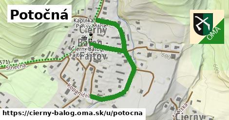 ilustrácia k Potočná, Čierny Balog - 411m