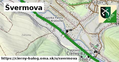 ilustrácia k Švermova, Čierny Balog - 1,43km