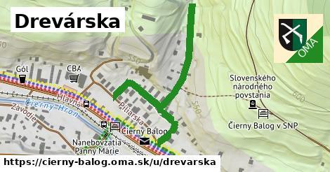 ilustrácia k Drevárska, Čierny Balog - 496m
