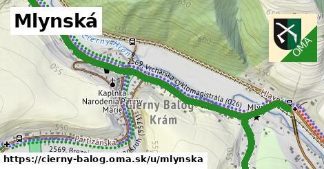 ilustrácia k Mlynská, Čierny Balog - 1,98km