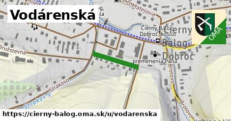 ilustrácia k Vodárenská, Čierny Balog - 152m