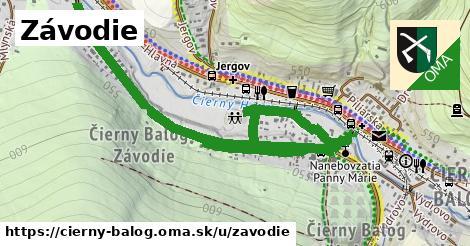 ilustrácia k Závodie, Čierny Balog - 1,36km