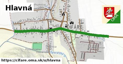 ilustrácia k Hlavná, Čifáre - 1,16km