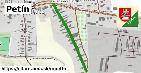 ilustrácia k Petín, Čifáre - 404m
