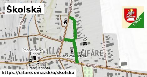ilustrácia k Školská, Čifáre - 301m