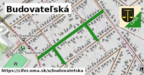 ilustrácia k Budovateľská, Cífer - 423m