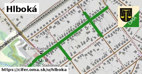 ilustrácia k Hlboká, Cífer - 537m
