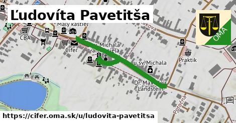 ilustrácia k Ľudovíta Pavetitša, Cífer - 491m