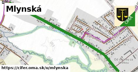 ilustrácia k Mlynská, Cífer - 309m