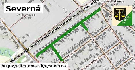 ilustrácia k Severná, Cífer - 422m