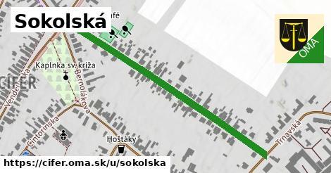 ilustrácia k Sokolská, Cífer - 557m