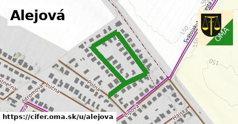 ilustrácia k Alejová, Cífer - 550m
