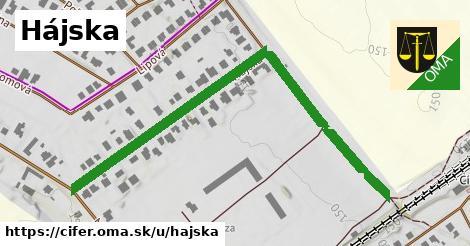 ilustrácia k Hájska, Cífer - 682m