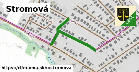 ilustrácia k Stromová, Cífer - 421m