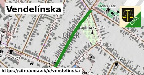 ilustrácia k Vendelínska, Cífer - 347m