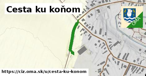 ilustrácia k Cesta ku koňom, Číž - 172m