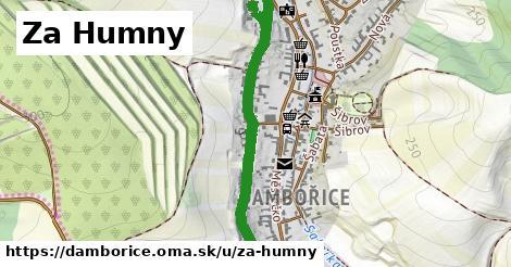 ilustrácia k Za Humny, Dambořice - 1,02km