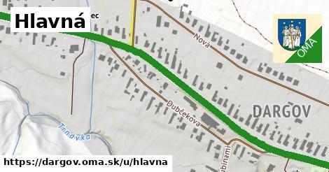 ilustrácia k Hlavná, Dargov - 1,22km