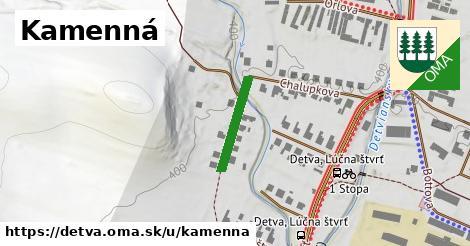 ilustrácia k Kamenná, Detva - 156m
