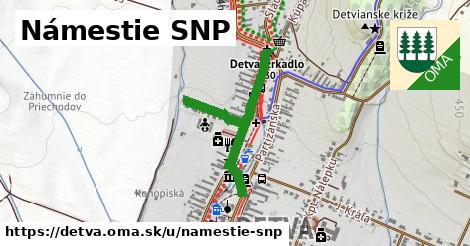 ilustrácia k Námestie SNP, Detva - 258m