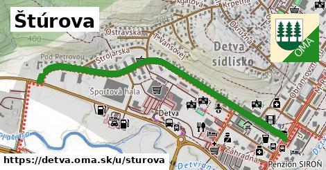 ilustrácia k Štúrova, Detva - 1,01km