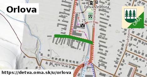 ilustrácia k Orlova, Detva - 199m