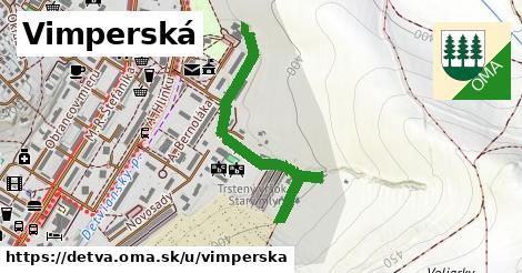 Vimperská, Detva