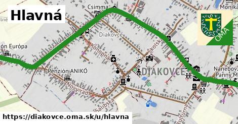 ilustrácia k Hlavná, Diakovce - 2,8km