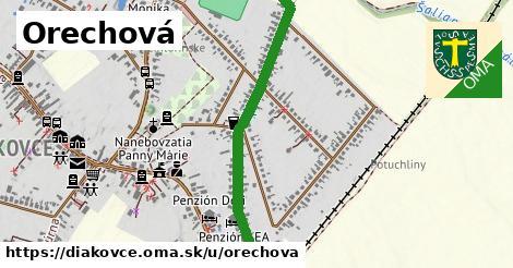 ilustrácia k Orechová, Diakovce - 1,27km