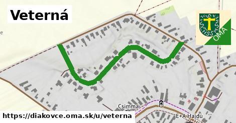 ilustrácia k Veterná, Diakovce - 544m