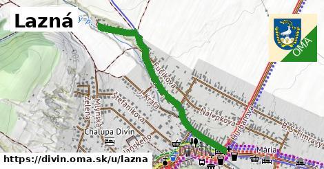 ilustrácia k Lazná, Divín - 0,90km