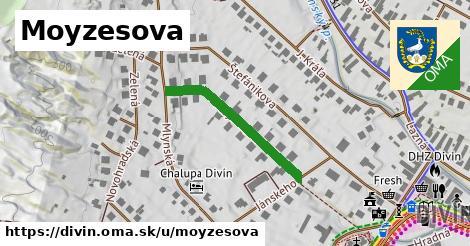 ilustrácia k Moyzesova, Divín - 276m