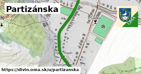 ilustrácia k Partizánska, Divín - 612m