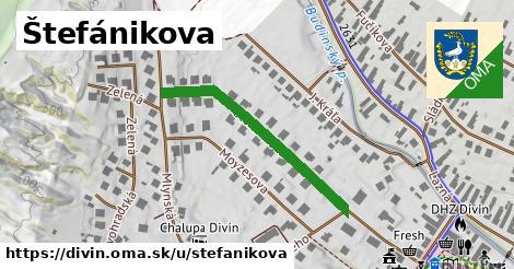 ilustrácia k Štefánikova, Divín - 493m