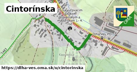 ilustrácia k Cintorínska, Dlhá Ves - 373m