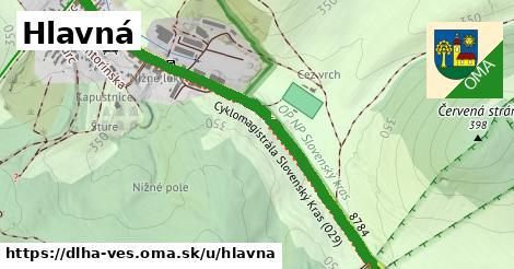 ilustrácia k Hlavná, Dlhá Ves - 2,7km