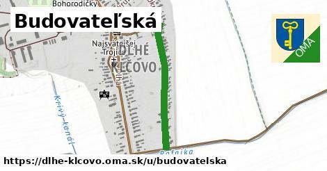 ilustrácia k Budovateľská, Dlhé Klčovo - 575m