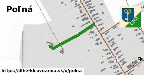 ilustrácia k Poľná, Dlhé Klčovo - 218m