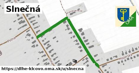ilustrácia k Slnečná, Dlhé Klčovo - 500m